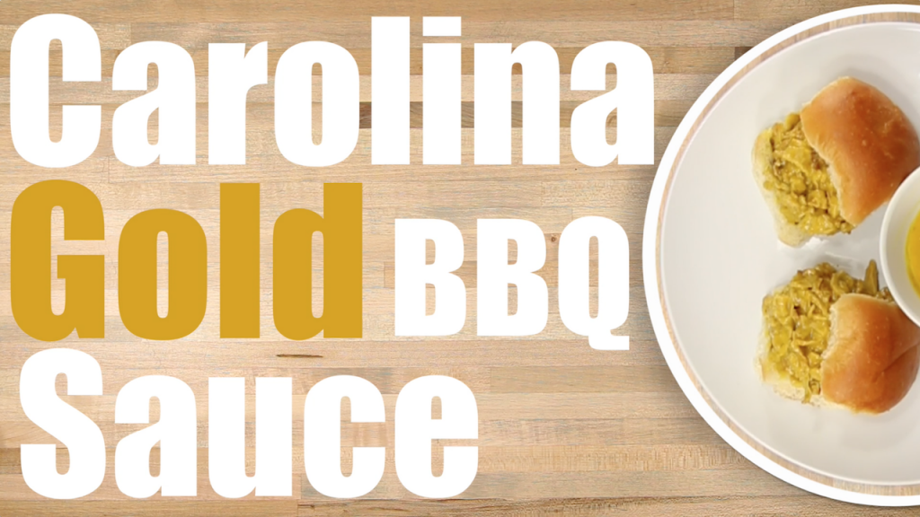 Carolina Gold bbq sauce recipe