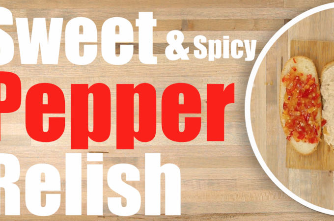 Sweet Pepper Relish Recipe – How to make Pepper Relish