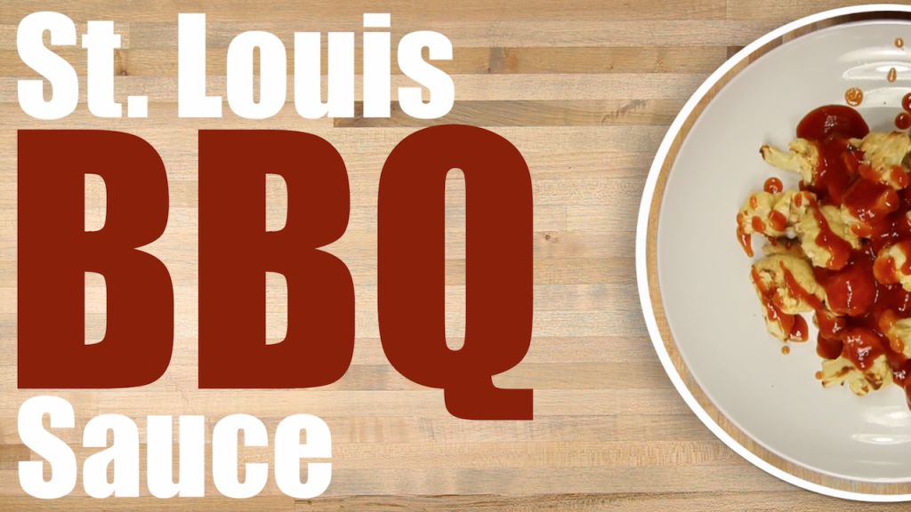 St Louis barbecue Sacue recipe thumbnail