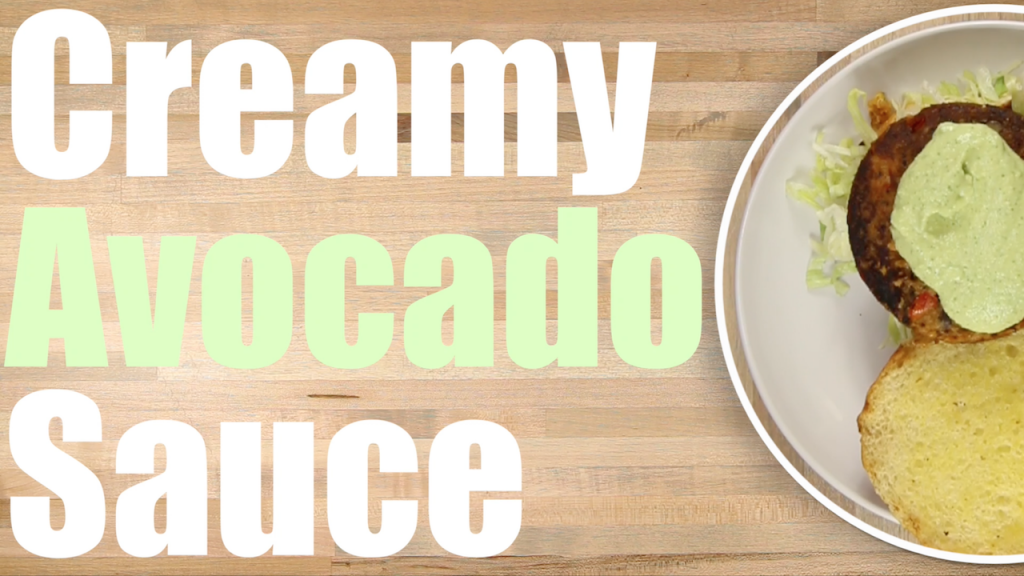 Creamy Avocado sauce recipe thumbnail