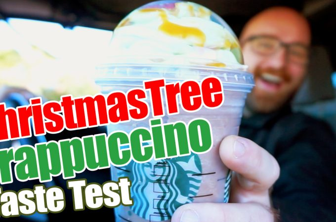 I Tried the New Starbucks Christmas Tree Frappuccino