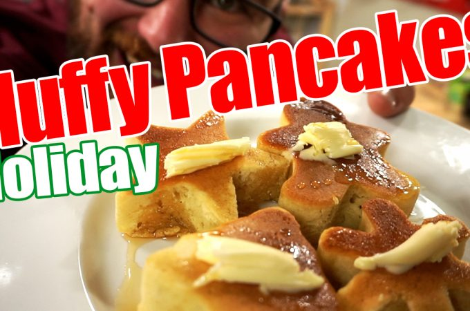 Holiday Fluffy Japanese Pancakes