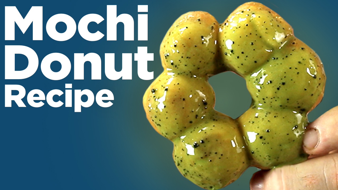 Mochi Donuts - Make THIS Mochi Donut Recipe!