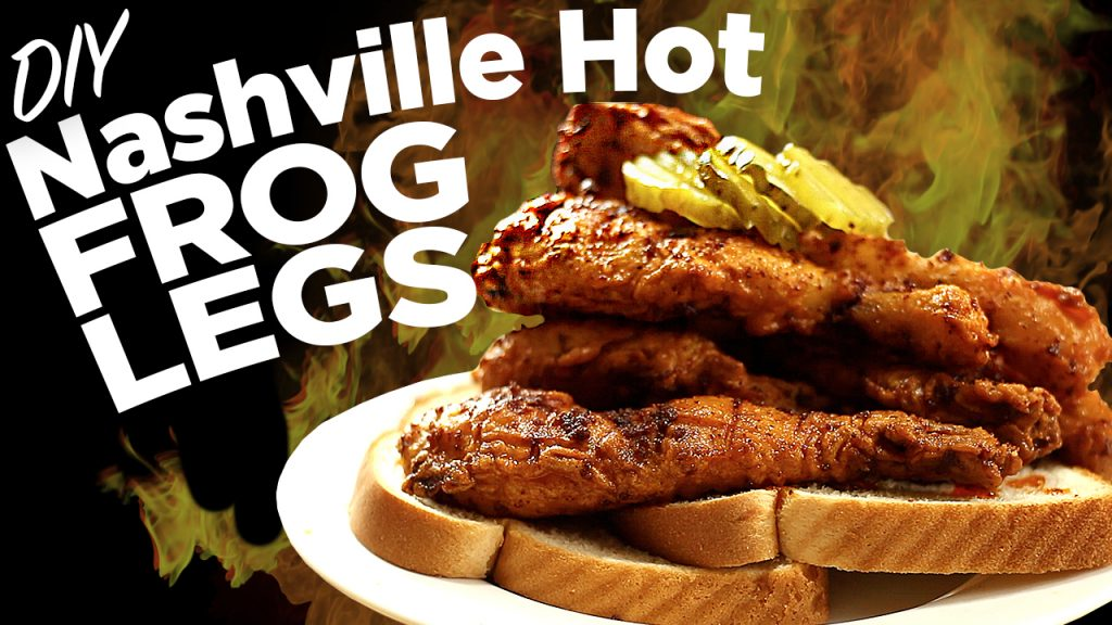 Nashville Hot Frog Legs