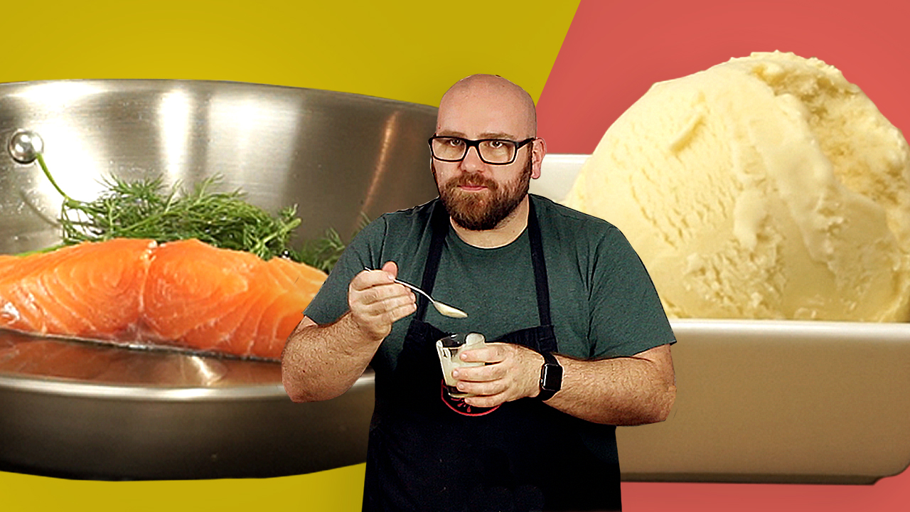 Anchovy and Salmon Ice Cream Recipes that YOU want to make!