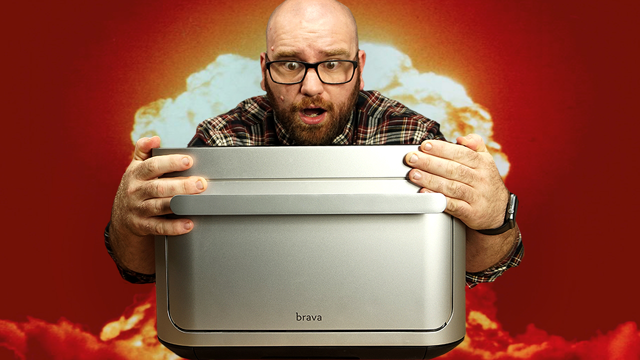 The Most Insane Kitchen Oven Ever Built – Is BRAVA Magic?? #ad