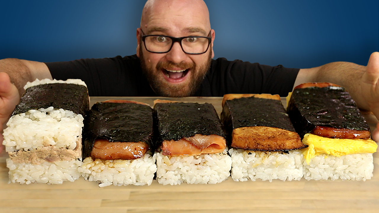 Spam Musubi Musubi 5 Ways Sauce Stache