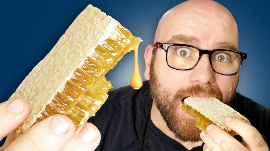 raw honeycomb taste test